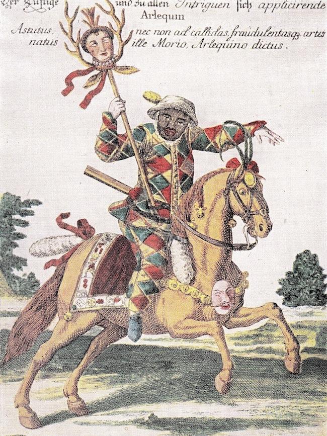 Arlequin cavalier-B