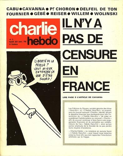 Charlie-Hebdo, n°1-B