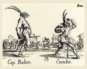 Balli di Sfessania Capitano, Cucuba-