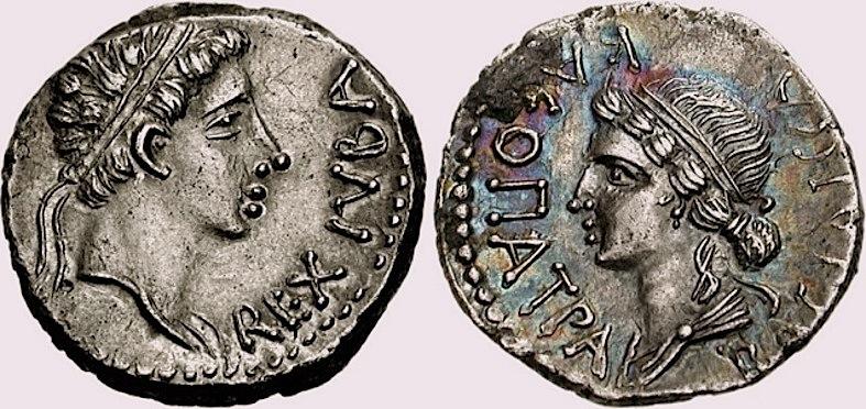 Cleopatre-selene-juba II, 1er siècle