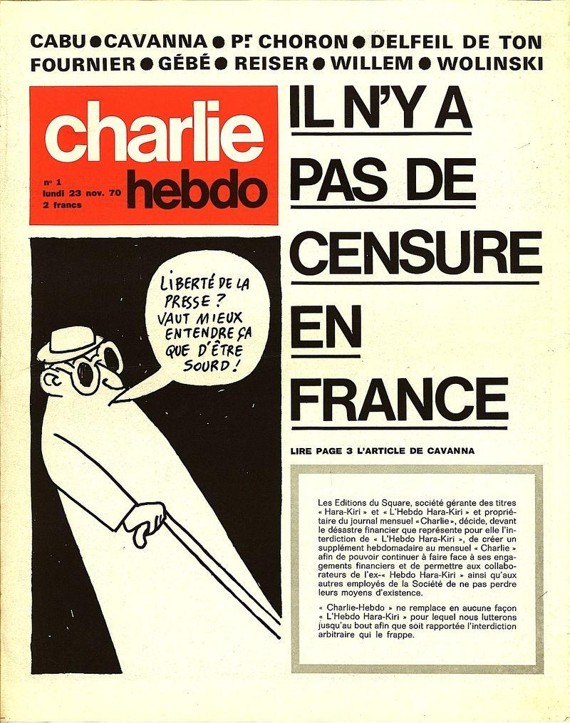 Charlie-Hebdo, n°1