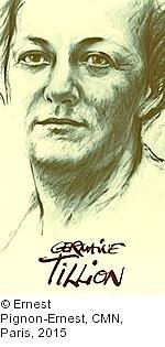 Ernest Pignon-Ernest. Germaine Tillion